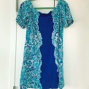 Lily Pulitzer aqua dress